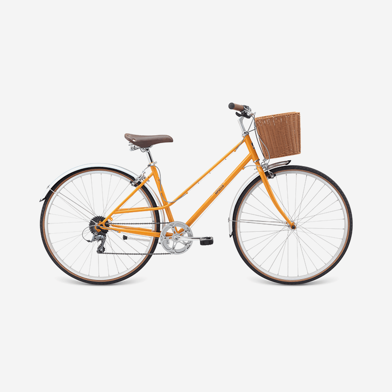 Orange With Basket