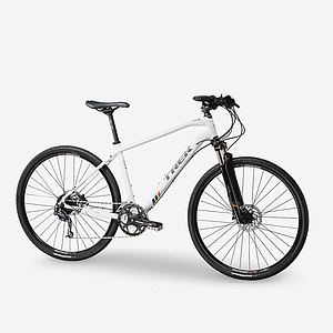 White Trek Bicycle
