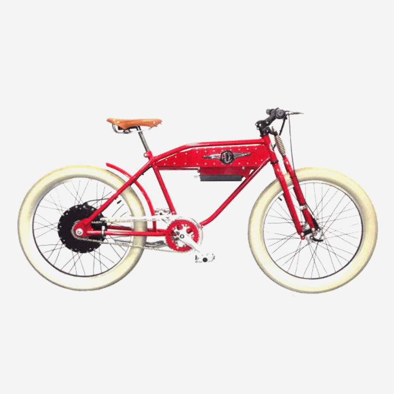 Electric Red Bike